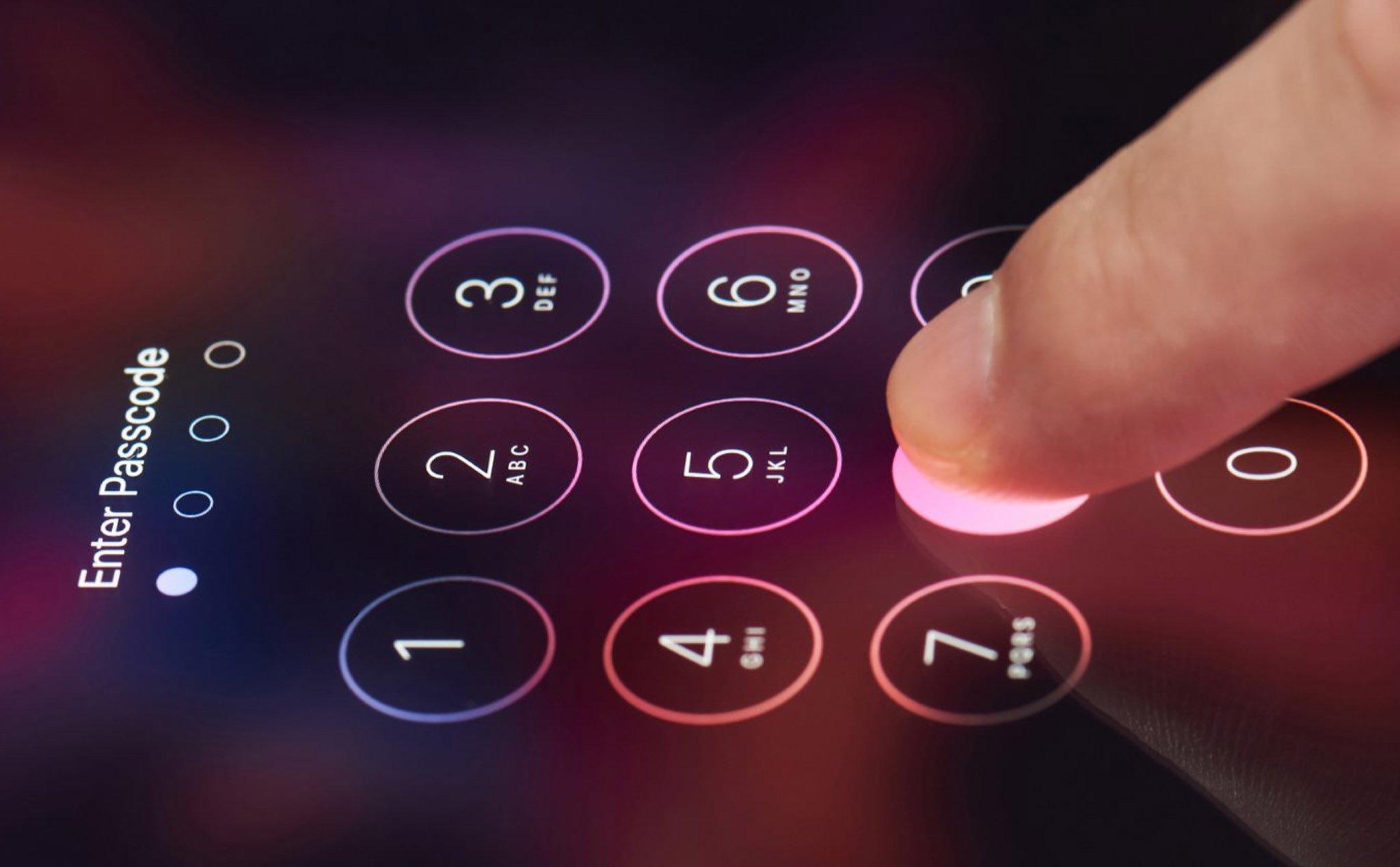 Apple đang nghiên cứu công nghệ Touch ID dưới màn hình, dùng ánh sáng xiên để đọc vân tay tốt hơn