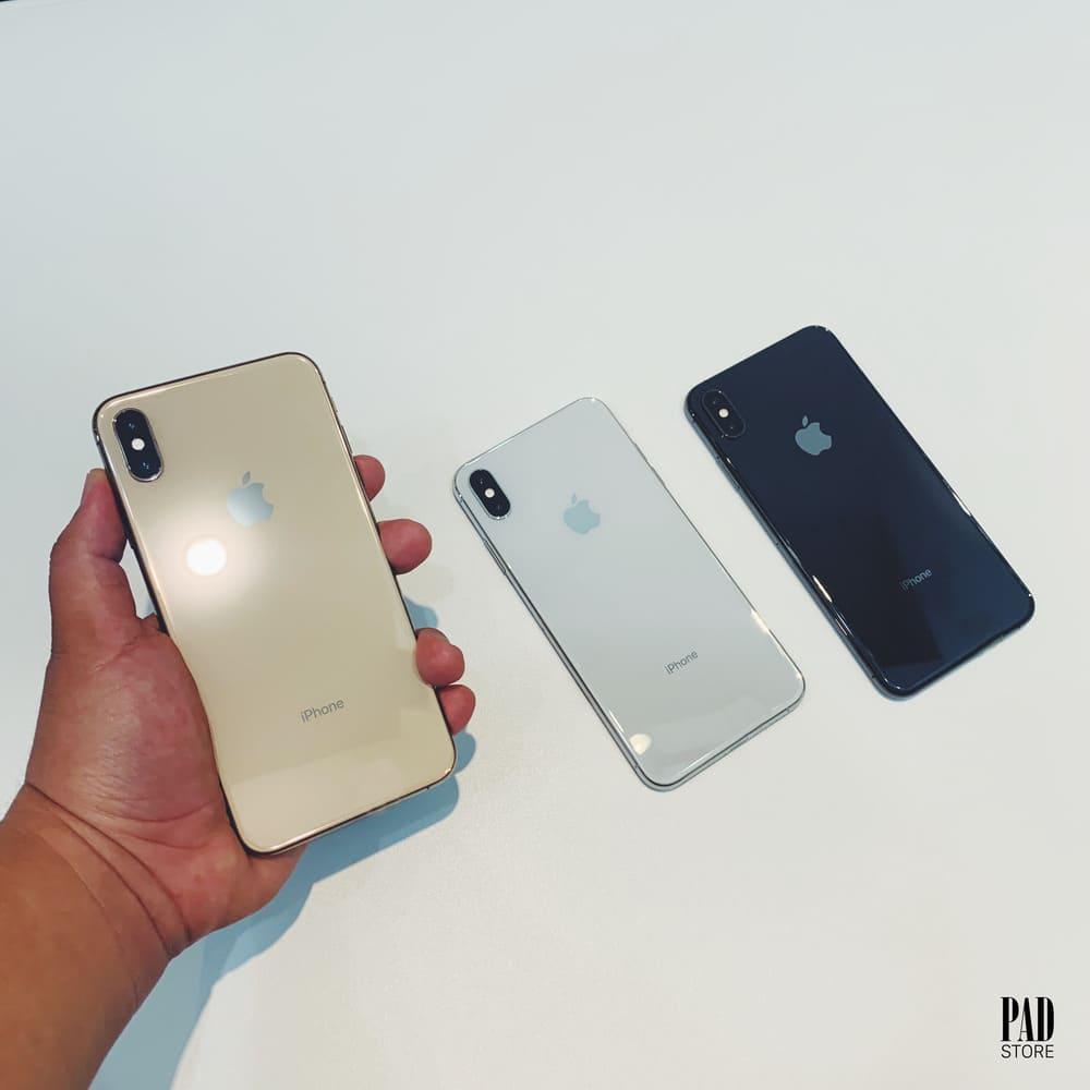 3 màu trên iphone xs max