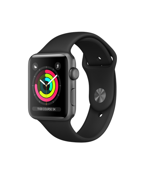 Apple Watch Series 3 GPS  38mm Viền Nhôm Chưa Active Mới 100%