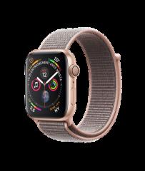Apple Watch 4 40mm (GPS) Viền Nhôm Vàng – Dây Vải Hồng (MU692) – Nhập Khẩu Chính Hãng Mới 100%