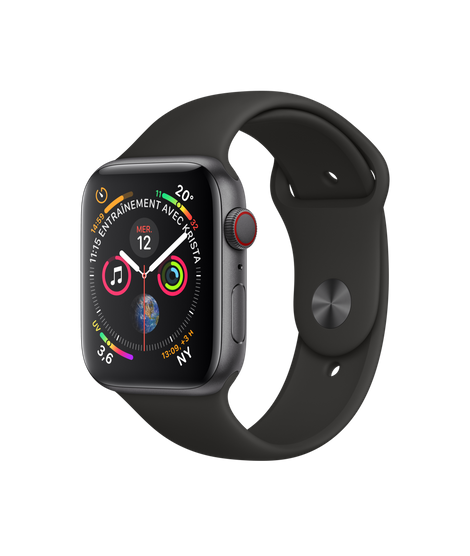 Apple Watch 4 GPS 40mm Viền Nhôm – Dây Cao Su – Chính Hãng Mới 100%