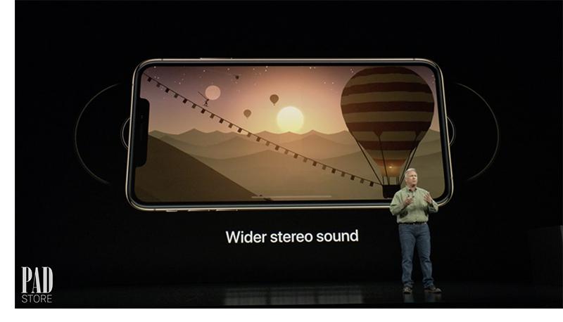 Âm thanh trên iPhone XS max