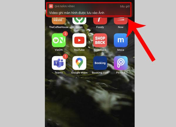 cách bật quay màn hình iphone