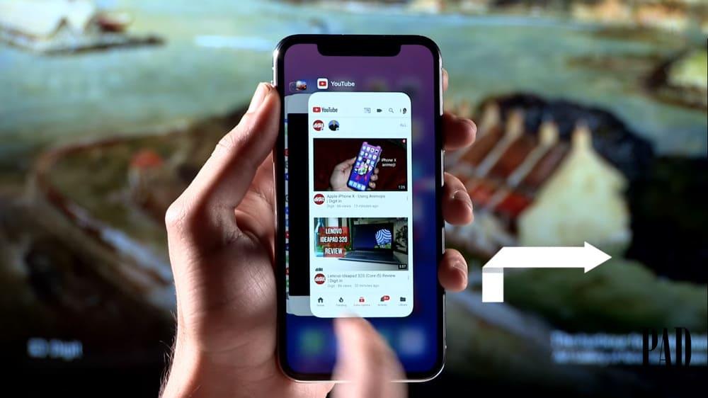 cách dùng iphone x