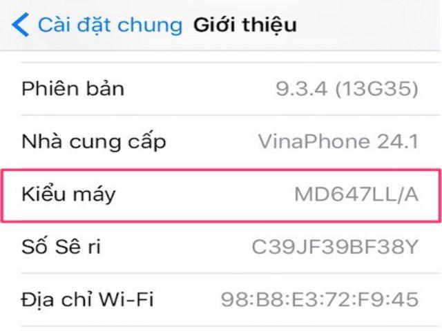 cách kiểm tra nguồn gốc iphone chính xác nhất