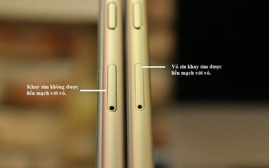 cách phân biệt iphone bị thay vỏ