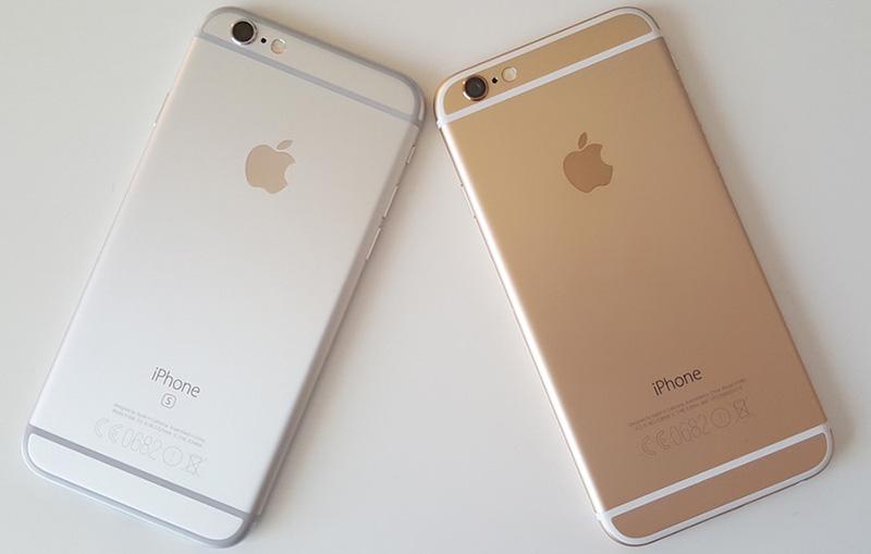 cách phân biệt iphone 6 và 6s qua ngoại hình