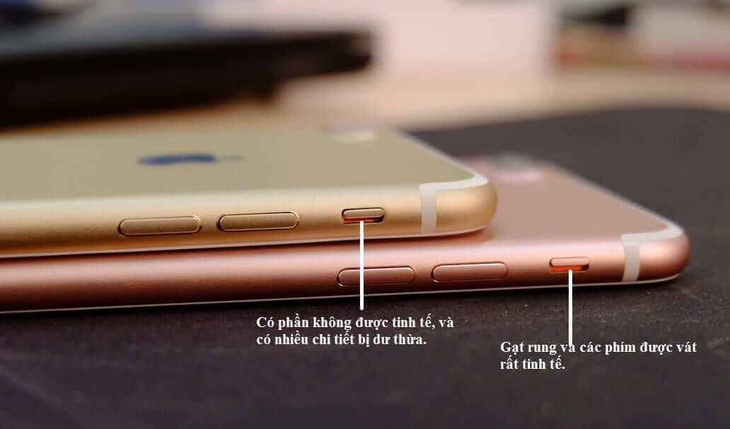 cách phân biệt iphone đã thay vỏ