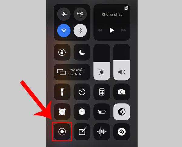 cách quay màn hình trên iphone