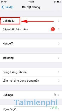 xem thong tin iphone