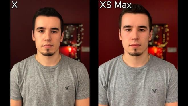 so sánh camera ip x và ip xs max