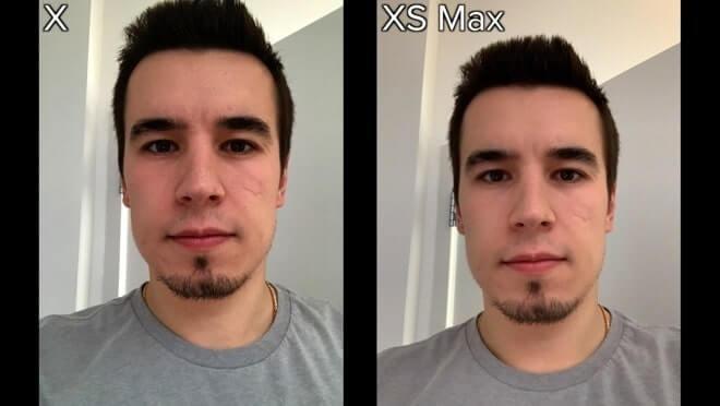 camera ip xs max và ip x