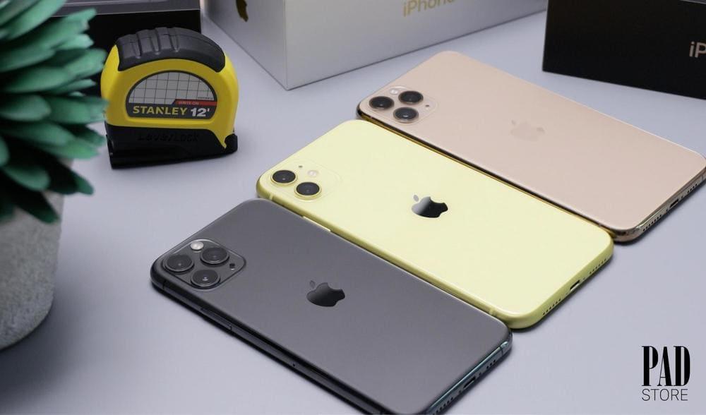 cấu hình bộ 3 iphone 11