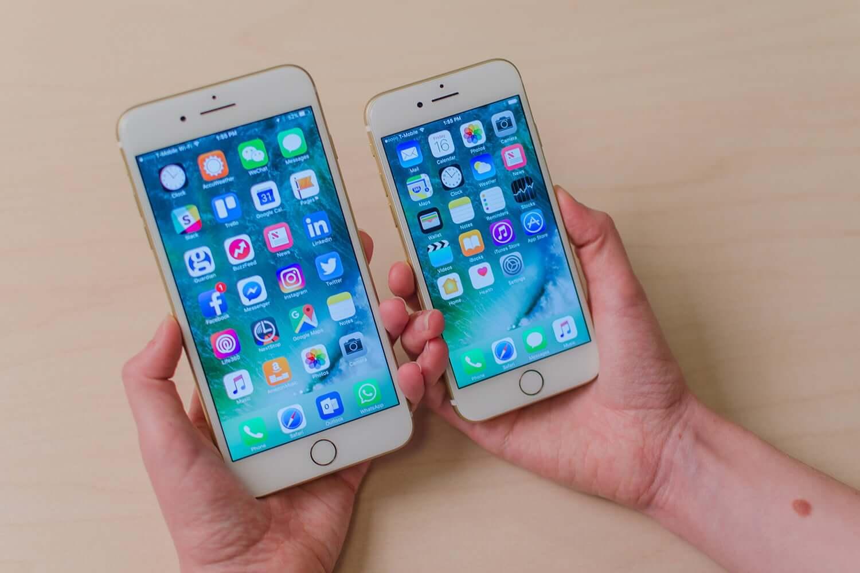 so sánh iphone 7 và 7 plus