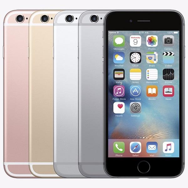 màu sắc của iphone 6s