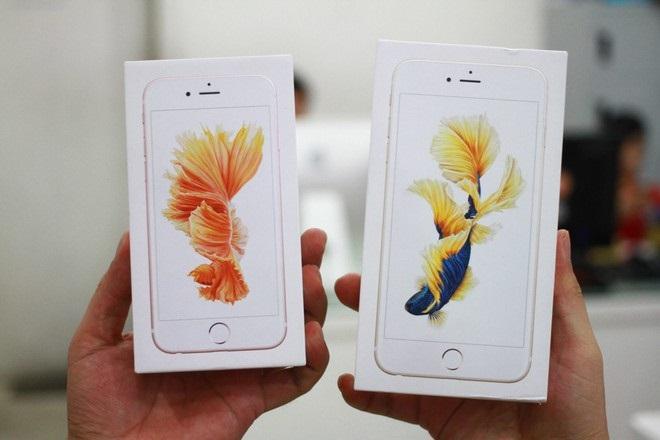 đập hộp iphone 6s 32gb chính hãng