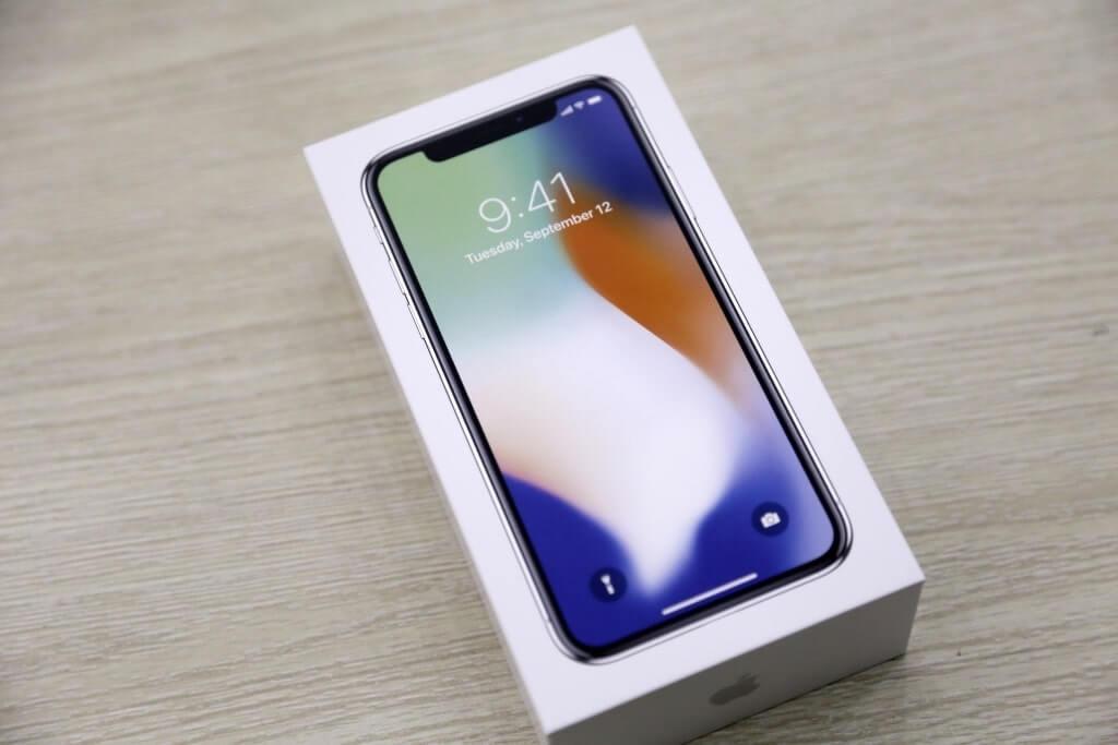 đập hộp iphone x