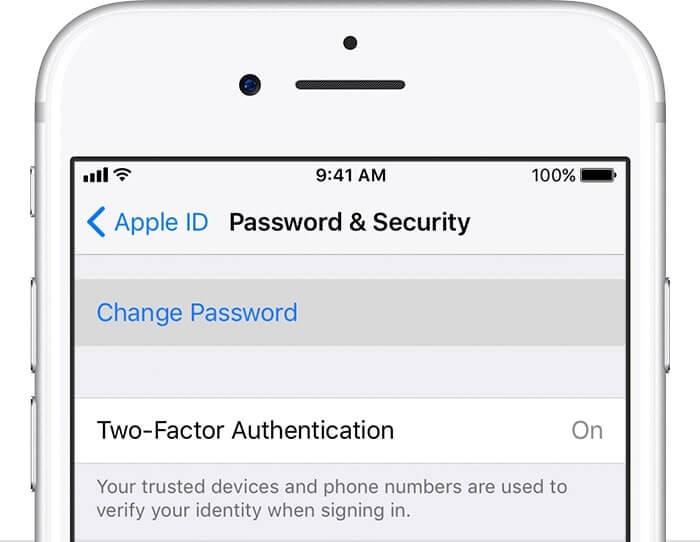 đổi pass apple id như thế nào
