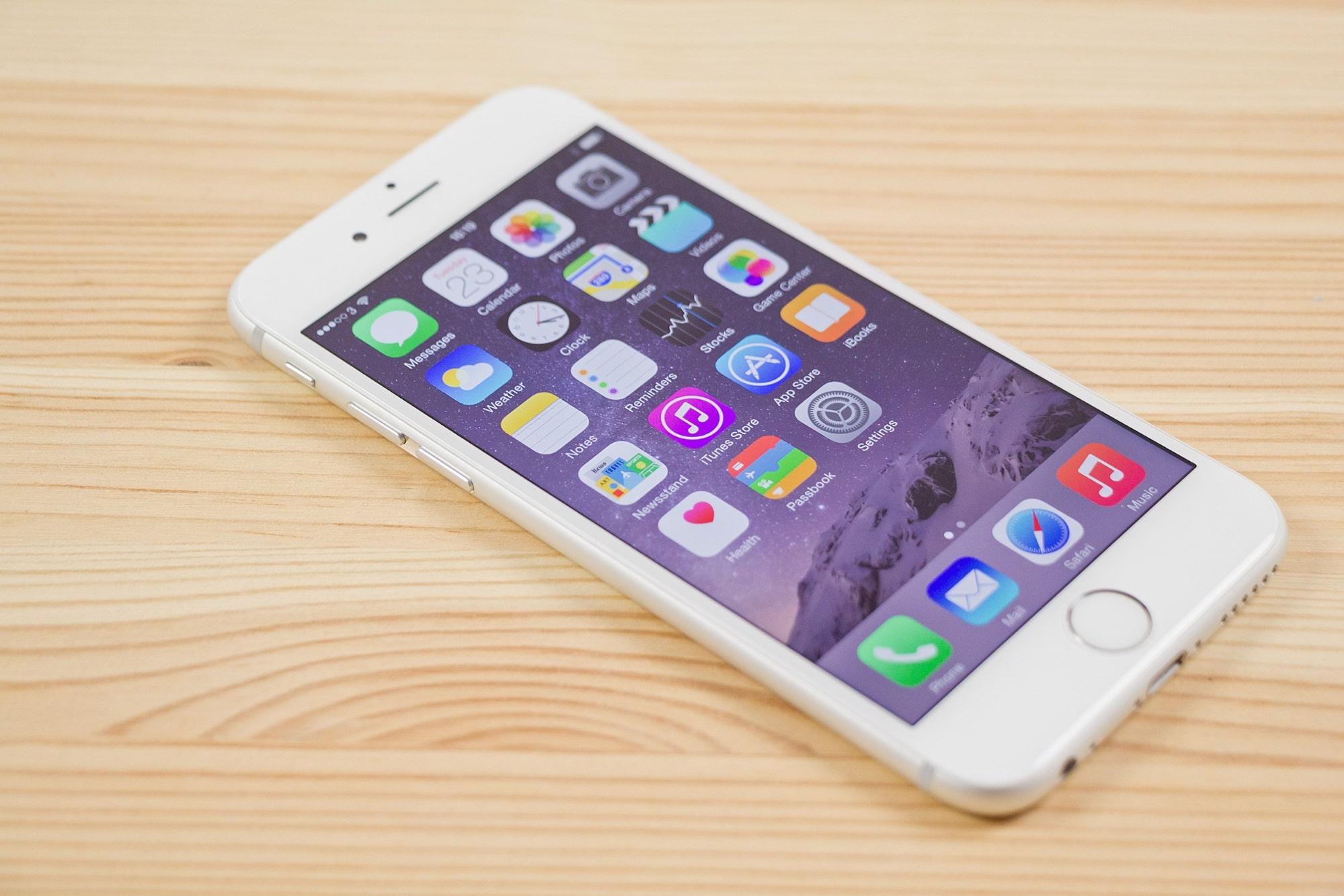 iphone 6 plus mở hộp