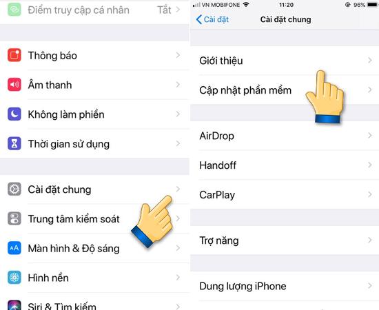 hướng dẫn xem thông tin iphone chính xác nhất