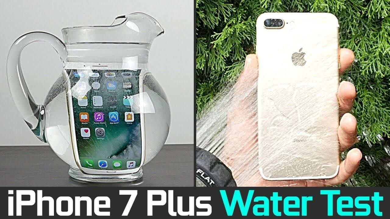 iphone 7 plus có chống nước được không