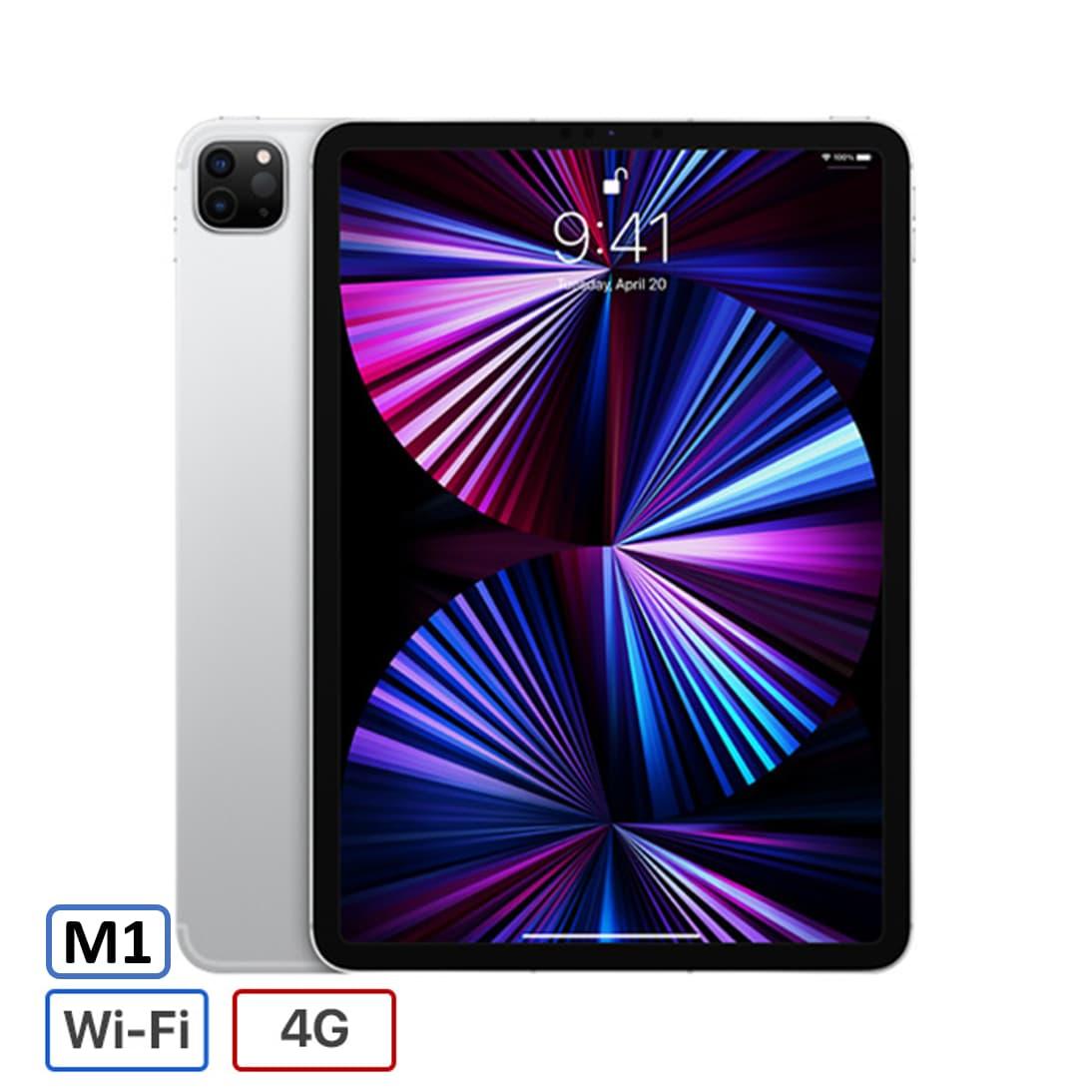 iPad Pro 11 inch Wifi + 5G 256GB Chip M1 (2021) Chính Hãng VN/A Mới 100%