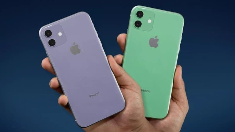 thiết kế iphone 11 128gb