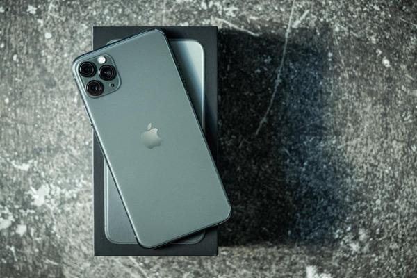 iPhone 11 Pro Max 512gb phiên bản màu midnight green