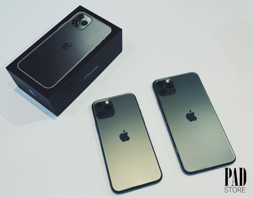 iphone 11 pro max màu xanh