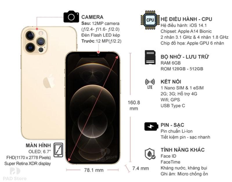 iphone 12 pro max cũ
