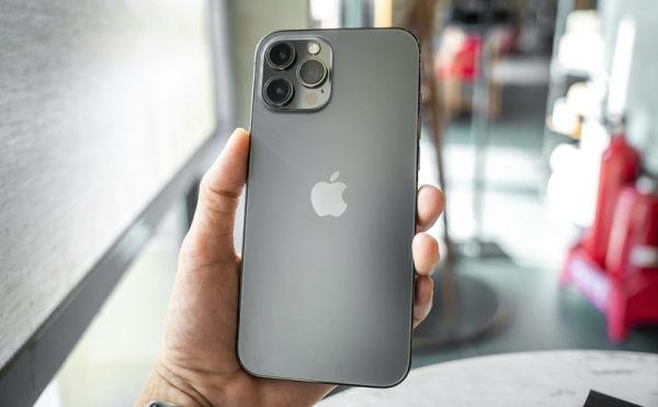 iphone12 pro max đen than chì