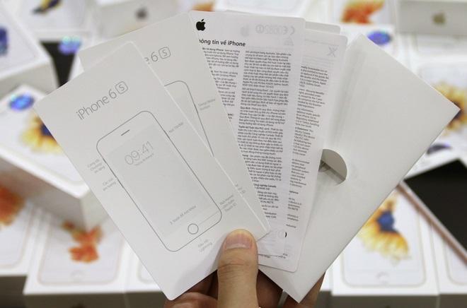 iphone 6s 64gb đập hộp hàng chính hãng