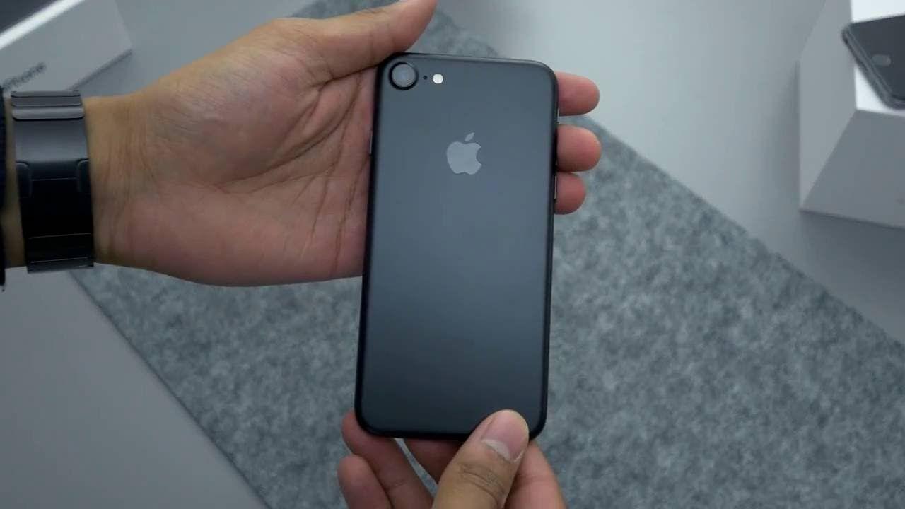 iphone 7 matte black 32gb