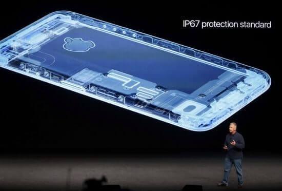 khả năng chống nước của iphone 7 plus