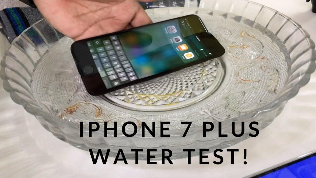 mức độ chống nước của iphone 7 plus