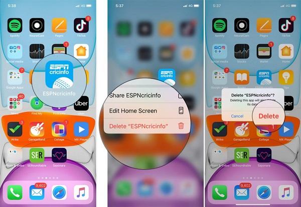iphone bị đơ màn hình cảm ứng