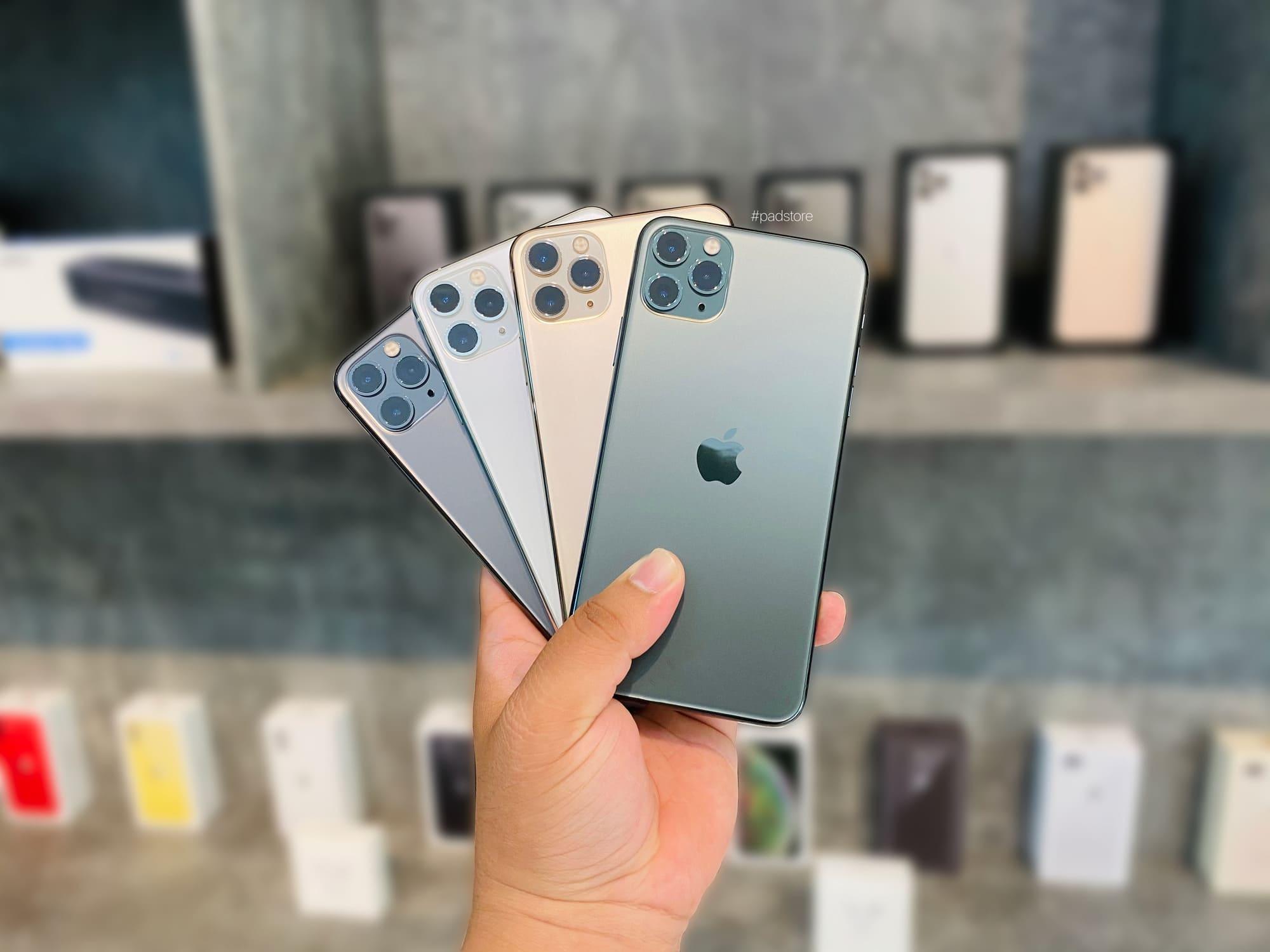 iPhone 11 Pro Max có mấy màu? Nên chọn phiên bản màu nào tốt nhất?