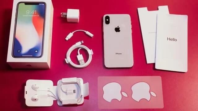 iphone x đập hộp