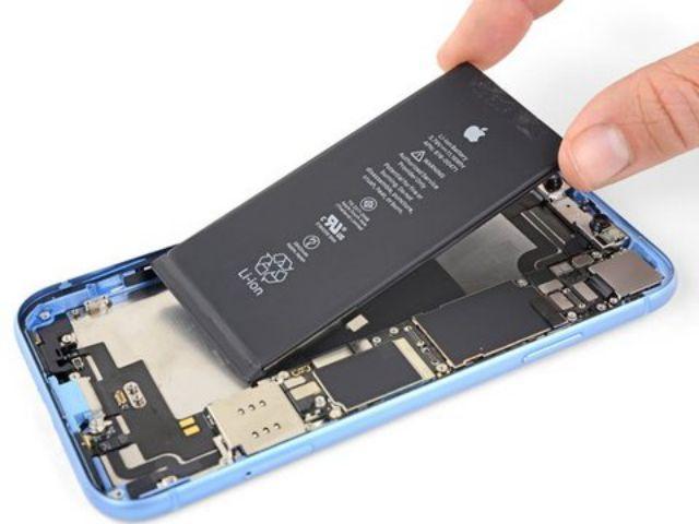 đánh giá thời lượng pin iphone xr