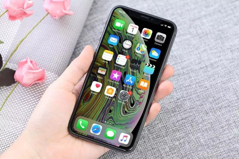 màn hình iphone xs đen