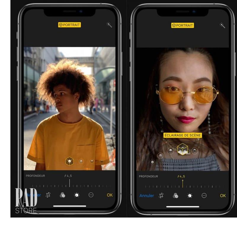Camera iPhone Xs Max trang bị khả năng xóa phông sau khi chụp.
