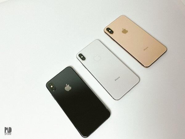 iphone xs max có mấy màu