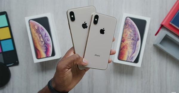 iphone xs màu trắng