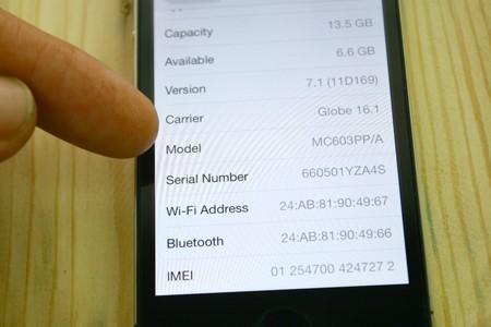 cách nhận biết iphone 6s dựng