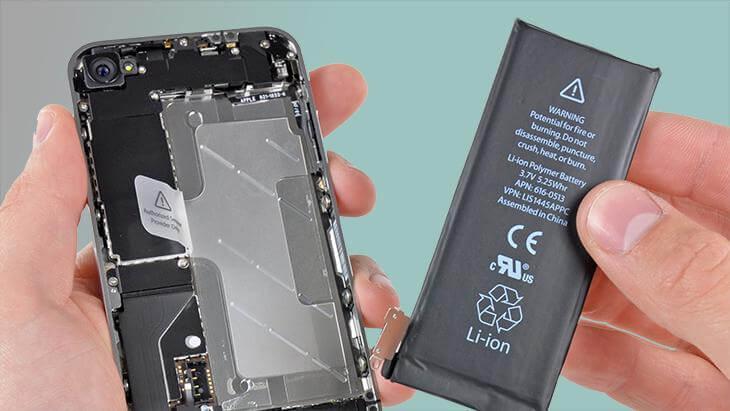 khi nào cần thay pin cho iphone