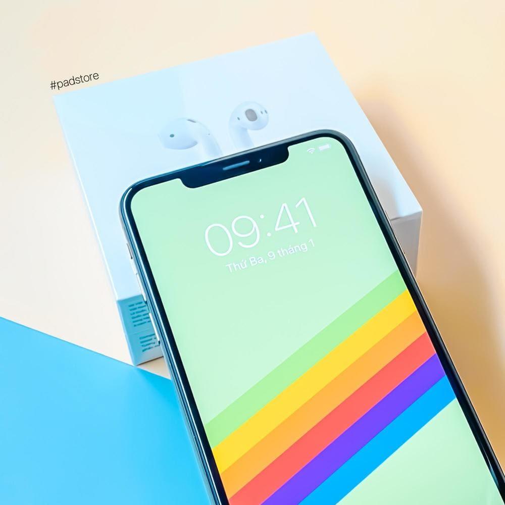 iPhone Xs sở hữu màn hình rộng và hình ảnh chất lượng sắc nét