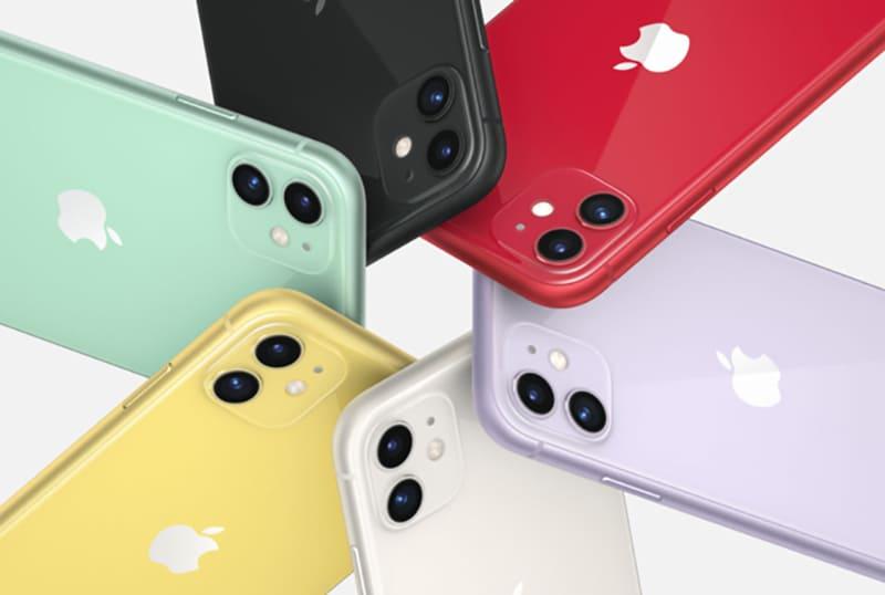 màu iphone 11 và iphone xr