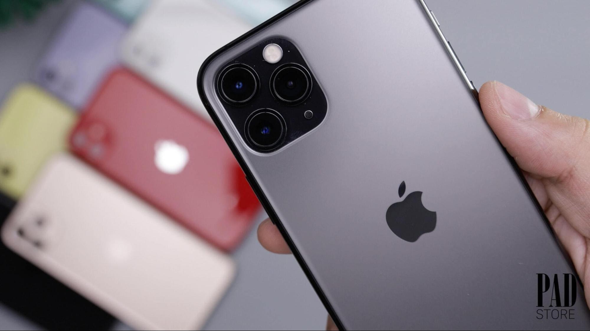 màu xám trên iphone pro max
