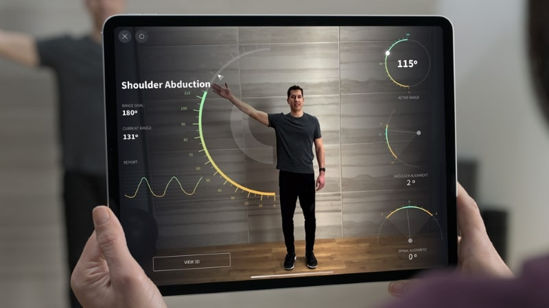 Cảm biến LiDAR trên iPad Pro 11 inch 2020 hỗ trợ thực tế ảo mạnh mẽ hơn