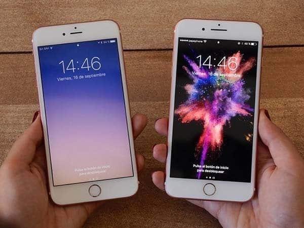 so sánh iphone 7 và 6s